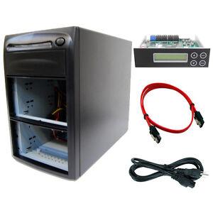3 Burner (5 Bay) SATA CD DVD Duplicator Copier Barebone Tower Replicator Case