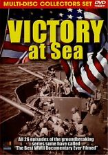 Victory At Sea (DVD, 2005, 3-Disc Set) World War II classic film documentary set