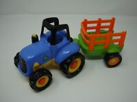 ELC Happyland Tractor and Trailer With Sounds