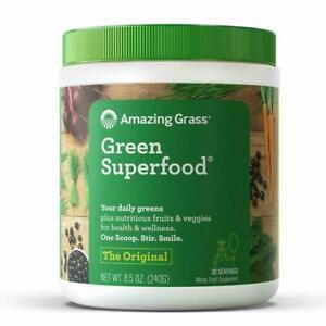 Amazing Grass Green Superfood: Organic Wheat Grass, Alfalfa and Super Greens ...