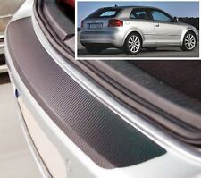Audi A3 (8P) - Carbon Style rear Bumper Protector