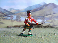 Vintage Timpo Napoleonic Highlander charging 1:32 painted