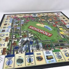 CityVille Monopoly Replacement Board Not the whole game Free Shipping