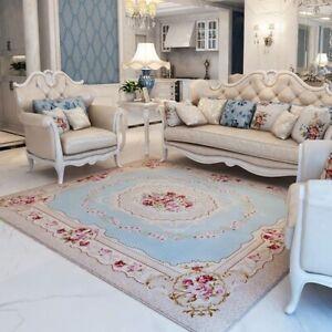 Pastoral Carpet Room Modern Bedroom Bedside Rugs Carpets Sofa Area Rug Floor Mat