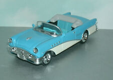 1/43 Scale 1955 Buick Century Convertible Diecast Car Model - New Ray 48694 Blue