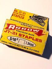 Arrow JT-21 Staples 5/16 Inch 7.94mm Vintage