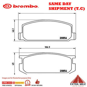 Front Brembo Brake Pads for TOYOTA COROLLA AE86 SPRINTER P83005