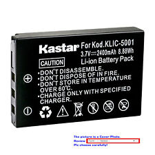 Kastar Replacement Battery for Kodak KLIC-5001 & Kodak EasyShare Z760 Camera