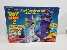 Toy Story 2 Rock'em Sock'em Robots Game Buzz & Zurg 1999 Disney Pixar Mattel NEW