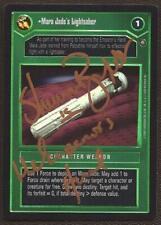 Mara Jade's Lightsaber FOIL [SIGNED see scans] REFLECTIONS II star wars ccg zz