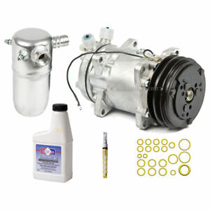 For Volvo 240 1992 1991 AC Compressor w/ A/C Repair Kit CSW