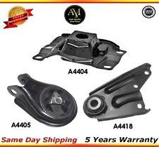 Engine  Motor Mounts Rear Set Kit 2.0L, 2.3L  For Mazda 3