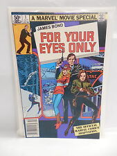 James Bond For Your Eyes Only Marvel Comic Book Movie Special #1 Chaykin Art