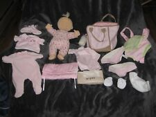 POTTERY BARN KIDS ABBY 160 BABY DOLL 2010 NORTH AMERICAN BEAR CO SOFT CLOTH TOY