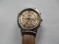 0479abbdc5e Jacques Lemans 1-1415 10 ATM Masculino Relógio Analógico Funciona Usado Sem  Caix.