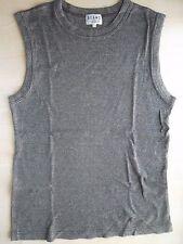 BEAMS Grey Singlet T-shirt L 45rpm sugarcane toyo enterprise made in japan yohji