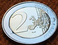 Unique 2 Euro UNC Grece 2002 S - Fauté Cœur Déformé - 2 Greece S Error - Rare