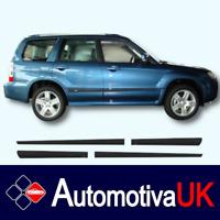 Subaru Forester Mk2 SUV Rubbing Strips   Door Protectors   Side Protection
