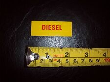 DIESEL 3M Decal Sticker ORIGINAL FACTORY PART Wrong Fuel Reminder Austin Rover?