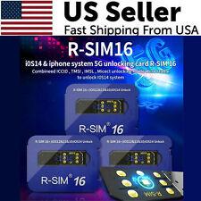 2021 R-SIM16 Nano Unlock RSIM Card For iPhone 12 11 Pro MAX XR X 8 7 iOS14 LOT