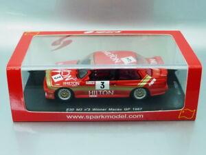 1/43 Spark BMW M3 #3 WINNER MACAU GP 1987