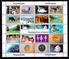 Kosovo - year 2006 - Michel 2006 Zd bogen - MNH - 50 Euro