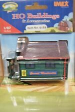 IMEX HO SCALE COUNTRY GENERAL STORE RESIN BUILT-UP BUILDING