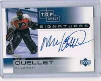 2002-03 UD Top Shelf Signatures #MO Maxime Ouellet NM-MT Auto Capitals