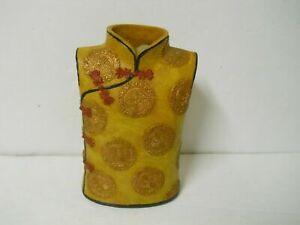 Asian Oriental Vest Torso Resin Vase Flower Planter Spiritual Home Decor
