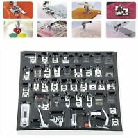 Industrial/ Domestic Sewing Machine Presser Foot Feet Kit Set for Brother Singer