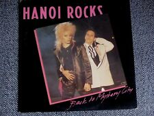 HANOI ROCKS - Back to mystery city - LP / 33T