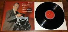 STEVE RACE with TUBBY HAYES JOHNNY SCOTT ~ DANCE TO TV THEMES ~UK STEREO JAZZ LP
