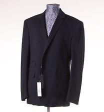 NWT $1495 RALPH LAUREN BLACK LABEL Navy Cotton Jersey Blazer 44 R Sport Coat XL