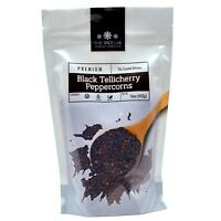 The Spice Lab - Whole Black Tellicherry Peppercorns - Packed in the USA - Kosher