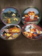 Danbury Mint Garfield Collector Plates Set Of 4