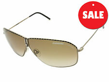 "Carrera ""Funky"" Brown Designer Sunglasses Graduated Ladies Silver"