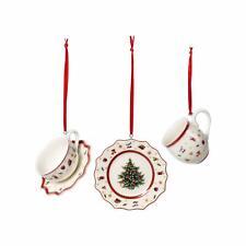 Villeroy & Boch TOY'S DELIGHT Decoration Ornaments Tableware Set s/3 #6664