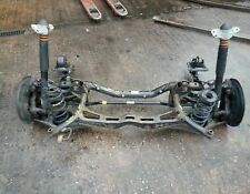 SEAT LEON FR 2007 COMPLETE REAR AXLE FRAME. CALIPERS.SPRINGS, SHOCKS, HUBS ETC..