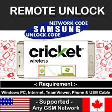Instant Remote Unlock Code Service Cricket Xfinity Samsung Galaxy Note 8 N950U