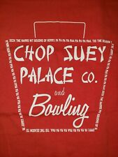 A Christmas Story Chop Suey Palace Co and Bowling graphic shirt