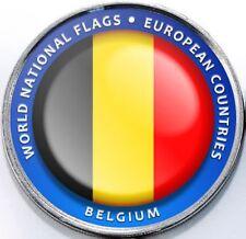 Belgium - Bougainville Island 1 Dollar 2017 UNC Flag unusual coinage