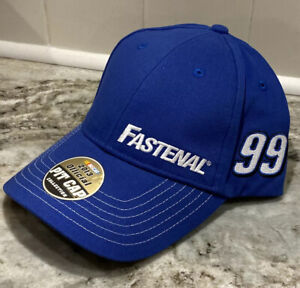 Carl Edwards Chase Authentics #99 Fastenal NASCAR Official Pit Adj Hat Cap