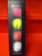 Bond Lee's coffret 4 balles de 3 couleurs et 1 blanche en silicone Magiclism