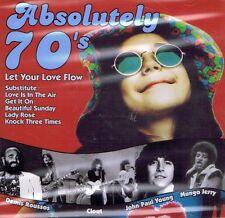 MUSIK-CD NEU/OVP - Absolutely 70s - Let Your Love Flow - Demis Roussos u.a.