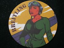 Breitling Drink Coaster New ~ Rare ~ Not Sold in Stores - 1 COASTER!!! SEE PICS!
