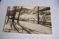 Rare Vintage RPPC Real Photo Postcard B1 Lowry Field Colorado Frosted Sunlight