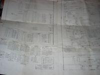 PHOTO FINISH Universal Pinball Full Original Schematic 1949 VG