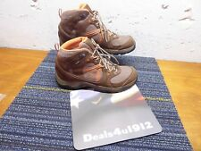 GARMONT Women's Brown Orange Suede Hiking Boots Size 9 US 41.5 Excellent Pre Own