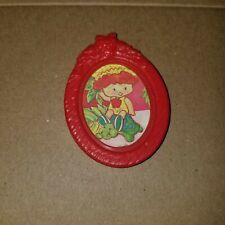 Vintage Strawberry Shortcake Berry Happy Home Apple Dumplin Picture Frame