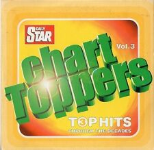 VARIOUS ARTISTS - CHART TOPPERS VOL. 3 (TOP HITS THROUGH THE DECADES) DAILY STAR